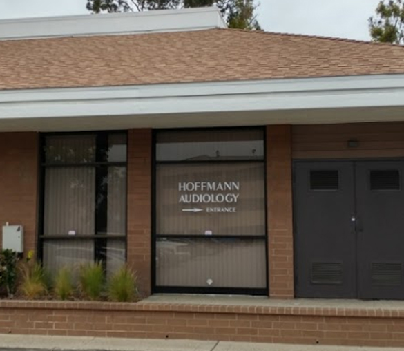 Exterior image of Hoffmann Audiology & hearing aid clinic in Irvine